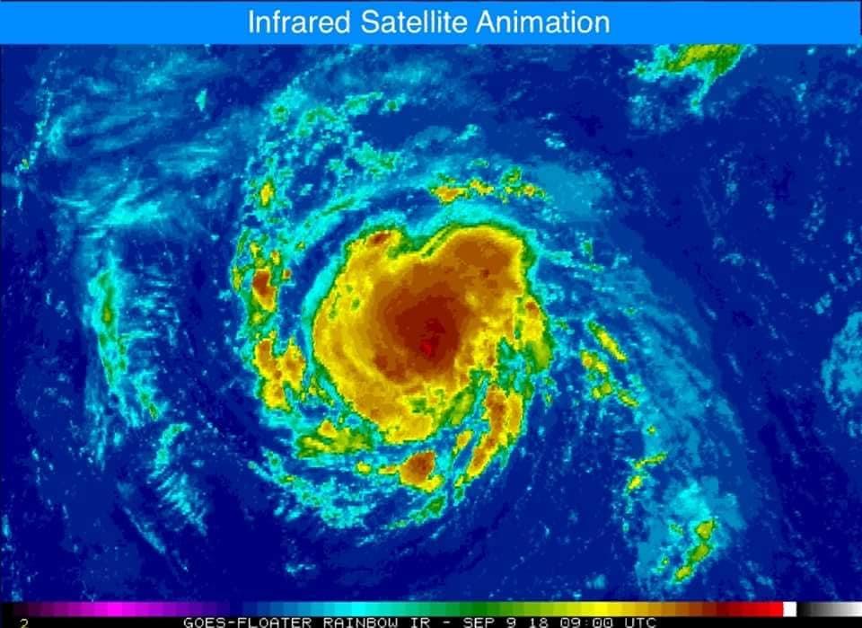 Uragano Florence negli Stati Uniti, un milione di persone evacuate
