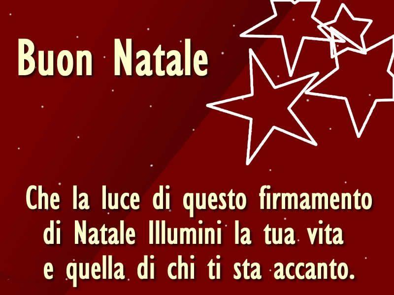 Auguri Di Buon Natale E Buone Feste Frasi Per Bigliettini E Da