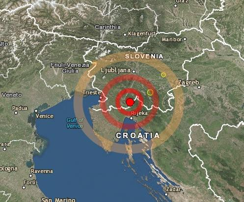 Scossa di terremoto in Slovenia, avvertita fino a Trieste