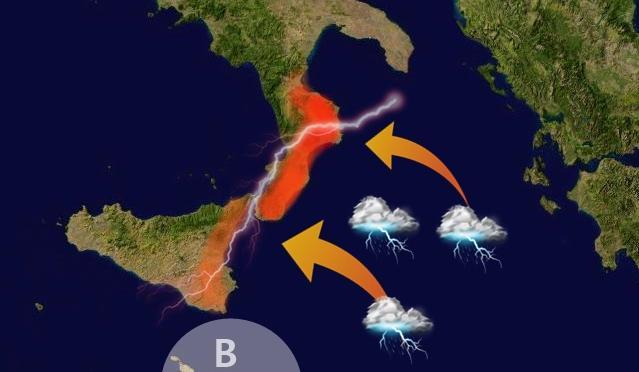 Maltempo, scatta l'allerta meteo in Campania per vento e mare