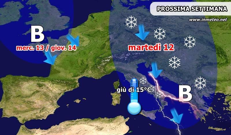 Possibili temporali, le previsioni del tempo per domani