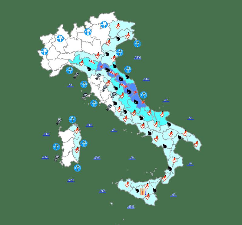 Bollettino Meteo del 14 maggio