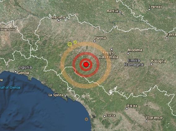 Terremoto, forte scossa nel Reggino
