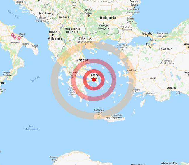Terremoto ad Atene: scossa di magnitudo 5.1, gente in strada: la situazione