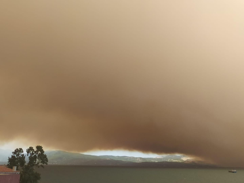 Grecia: a Evia forse incendio doloso, in fumo 2.800 ettari