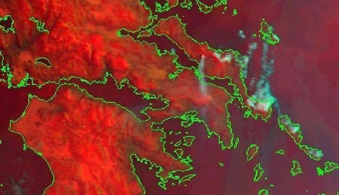 Grecia, ancora in fiamme isola di Evia