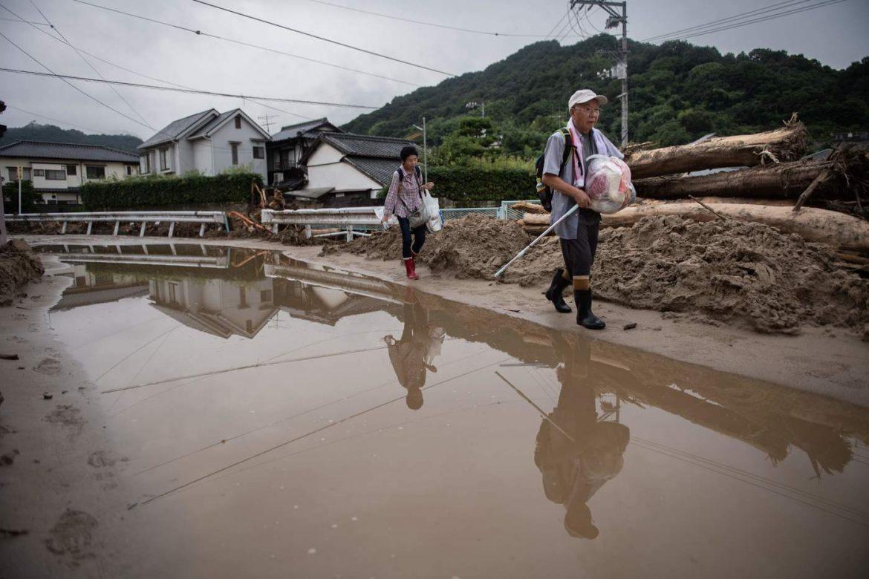 Giappone, un morto e 870 mila evacuati per le piogge torrenziali