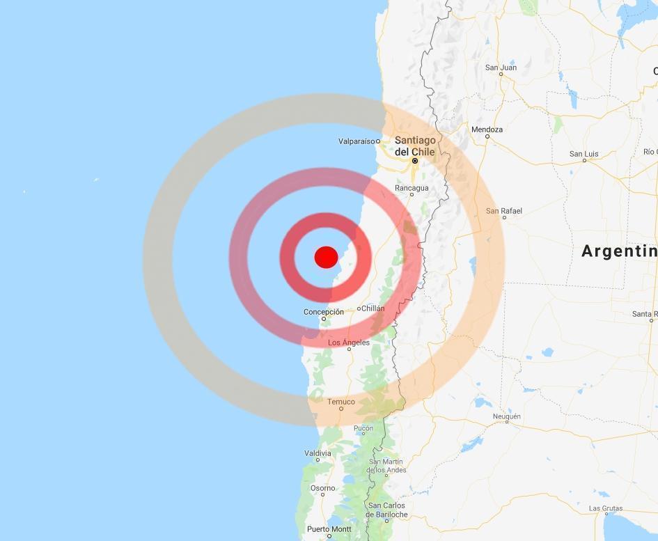 Violenta scossa di terremoto in Cile: avvertita anche nella capitale Santiago
