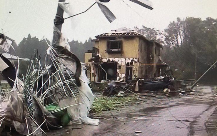 Il tifone Hagibis travolge il Giappone