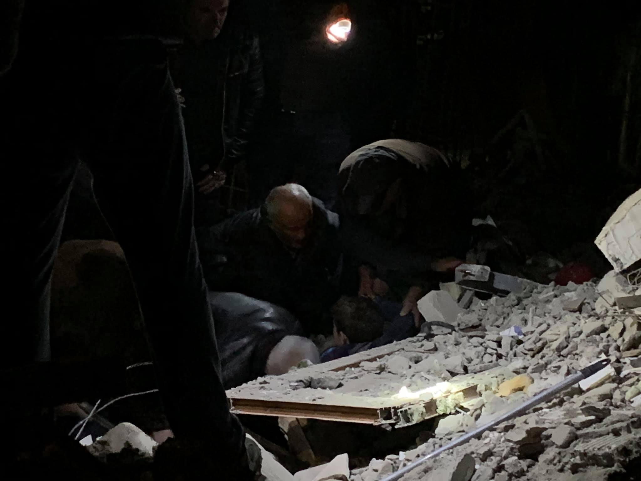 Terremoto in Albania, il video del disastro