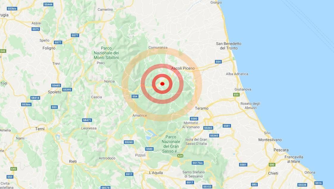 Marche: scossa di terremoto lieve avvertita ad Ascoli ...