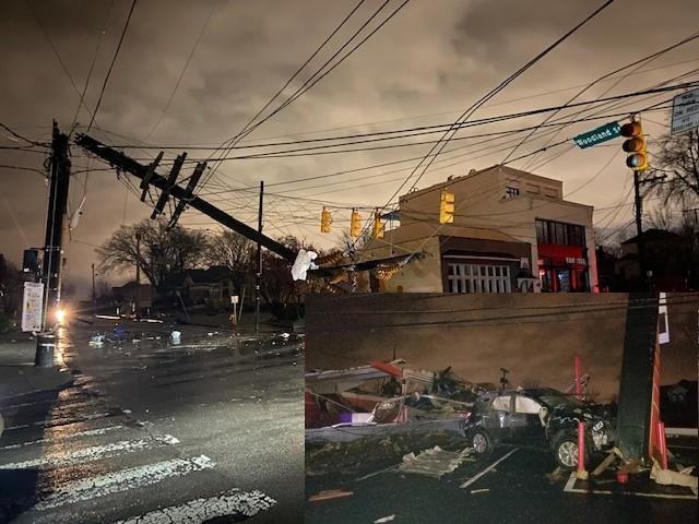 Usa, tornado in Tennessee: le immagini della devastazione, case distrutte e sventrate