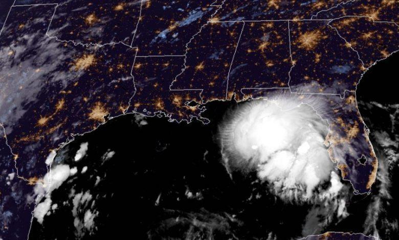 Sally, l'uragano che spaventa il Messico e gli Usa