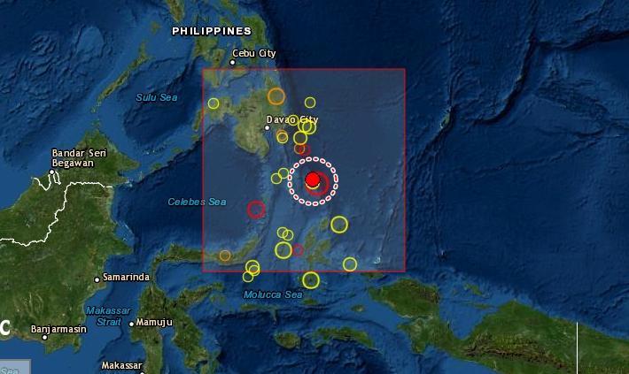 Terremoto 7.0 a sud delle Filippine: epicentro in mare, nessuna allerta tsunami
